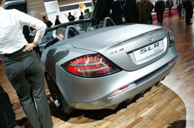 Mercedes SLR 722S Roadster