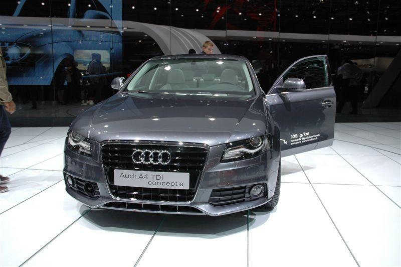 Audi A4 Concept e