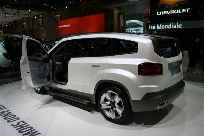 Chevrolet Olrando Concept