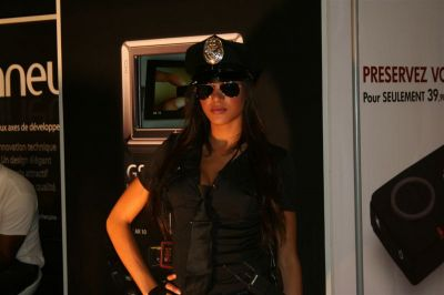Police et Gendarmerie au Mondial 2008