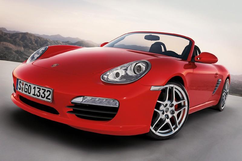 Porsche Boxster et Cayman 2009