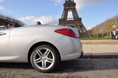Peugeot 308 CC à l'épreuve de la rue