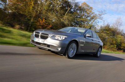 Essai BMW 740i