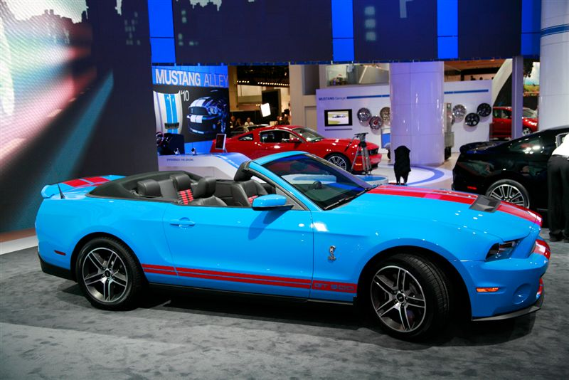 Ford Mustang Shelby GT500 Cabriolet