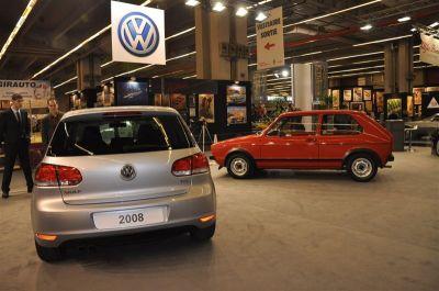 La VW Golf dans tous ses états à Rétromobile