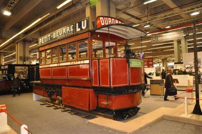 Rétromobile 2009 : un tramway qui ne manque pas d'air