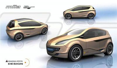 Magna Steyr Mila Flex EV
