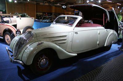 Rétrospective Peugeot Cabriolet