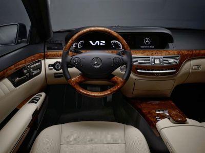 Mercedes Classe S retylée (2009)