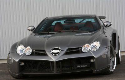 Mercedes SLR Desire FAB Design