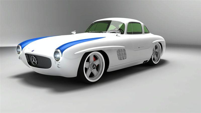 Mercedes 300 SL Panamericana Concept