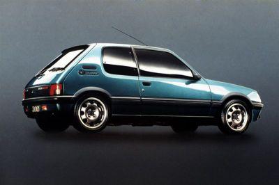 Les 25 ans de la Peugeot 205 GTI