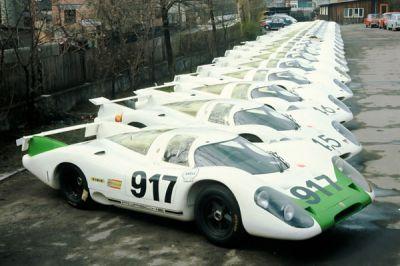 Les 40 ans de la Porsche 917