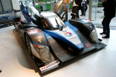 Peugeot Sport après sa victoire au Mans