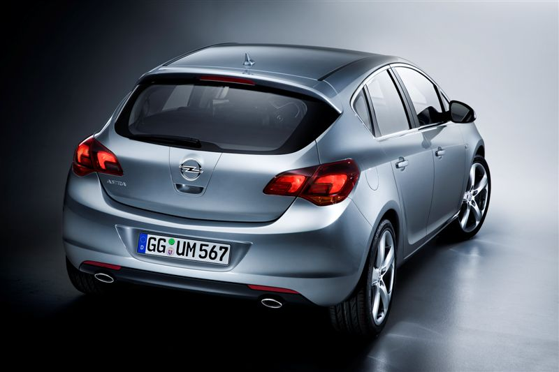 Nouvelle Opel Astra (habitacle)