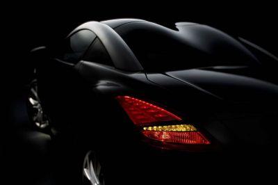 Peugeot RCZ teasers