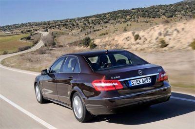 Mercedes E200 blueefficiency