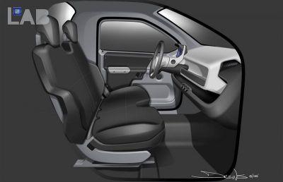 General Motors Bare Necessities Concept