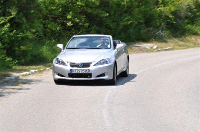 Essai Lexus IS 250C
