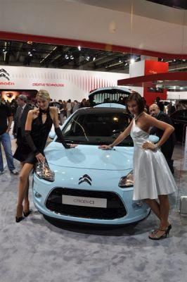 Les hôtesses Francfort 2009