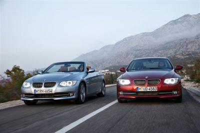 BMW Série 3 Coupé et Cabriolet restylées