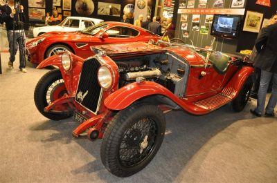 Le centenaire d'Alfa Romeo à Rétromobile