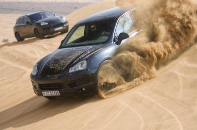 Porsche Cayenne 2 scoop
