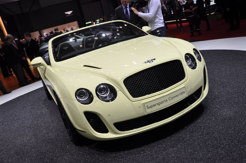 Bentley Supersports Convertible