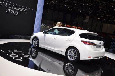 Lexus CT 200h salon