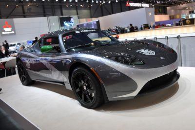 Les hybrides et électriques de Genève 2010