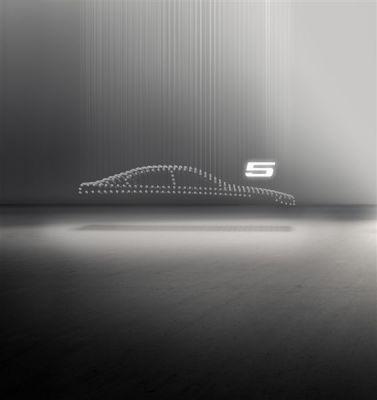 Sculpture cinétique BMW