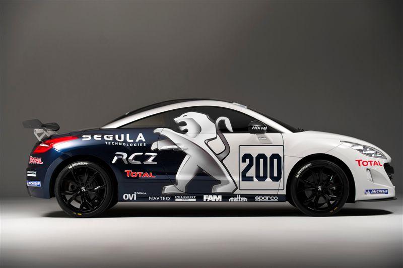 Peugeot RCZ competition