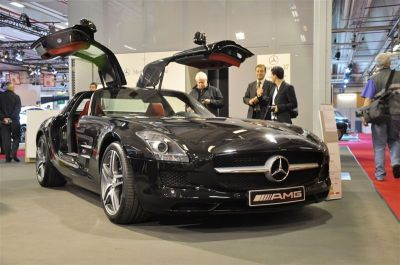 Mercedes SLS AMG Salon coupé cab 2010