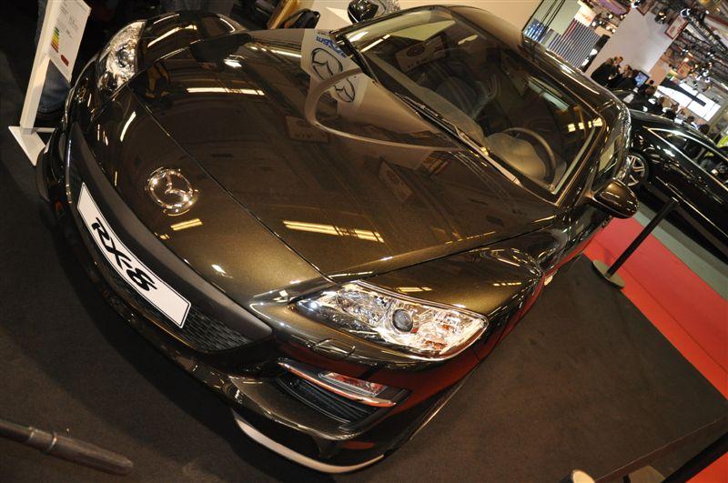 Mazda RX8 restylée au salon coupé cab