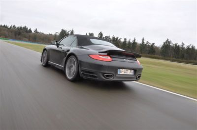 Essai Porsche 911 cabrio Turbo