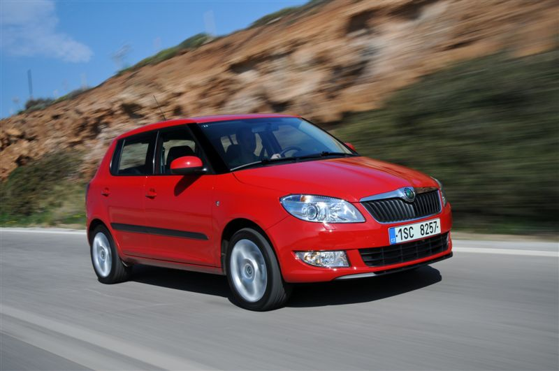 albums photos essai skoda fabia restyl e 1 6 tdi 90. Black Bedroom Furniture Sets. Home Design Ideas