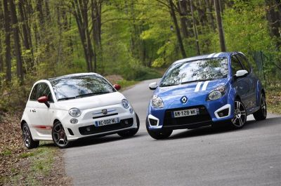 Match Renault Twingo RS Gordini / Abarth 500