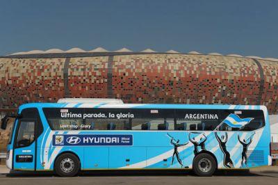 Les cars de la Coupe du Monde de Football 2010