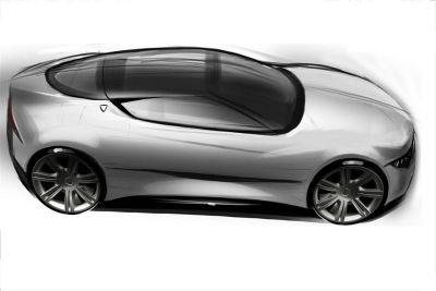 croquis Lancia Ypsilon