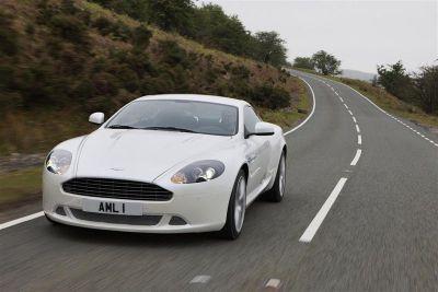 Aston Martin DB9 restylée