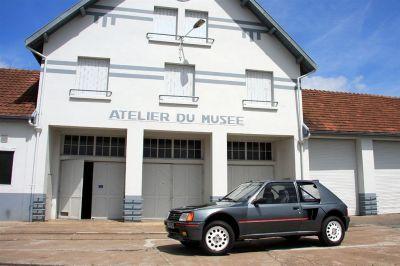 Essai Peugeot 205 Turbo 16