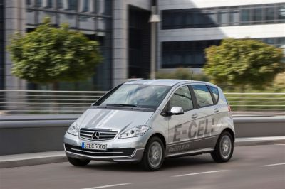 Mercedes Classe A E-Cell
