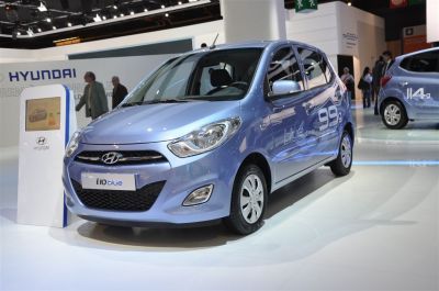 Hyundai i10 restylée