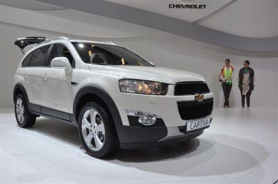 Chevrolet Captiva restylé