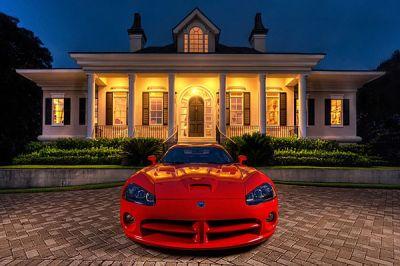 Illusions de supercars par Webb Bland