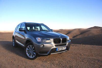 Essai BMW X3 2010