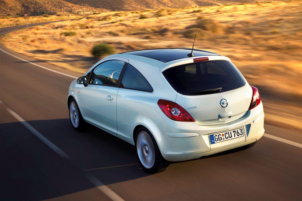 Opel Corsa restylée