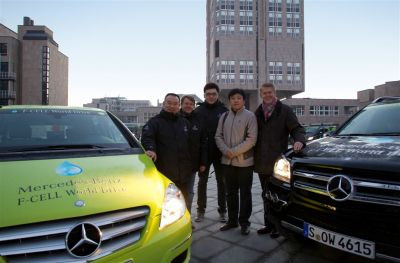 Mercedes F Cell World Drive