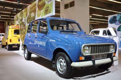 La Renault 4L à Rétromobile