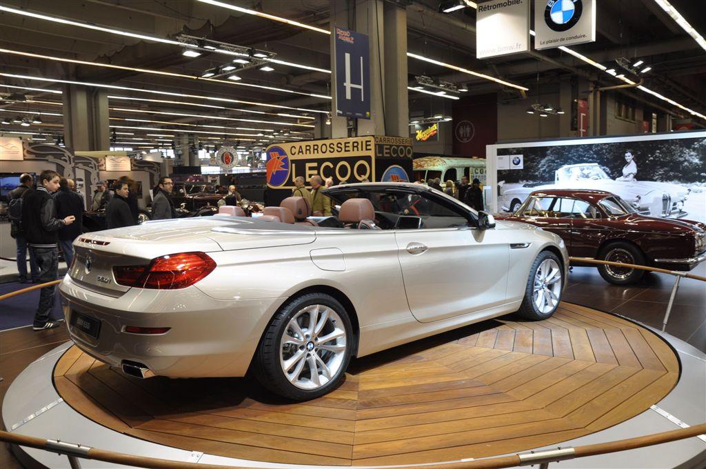 BMW Série 6 Cabriolet Rétromobile